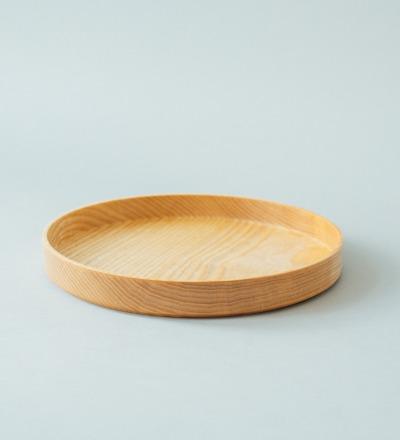 Eshly Deli Serve Small / 25 cm / stapelbar - Tablett aus massiver unverleimter Esche