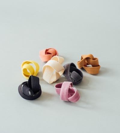 eshly Gummiband Medium - plfanzengefärbtes und plastikfreies Biogummiband für Bentodosen