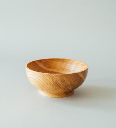 eshly Del Deep Medium - Bowl made from massive ash wood