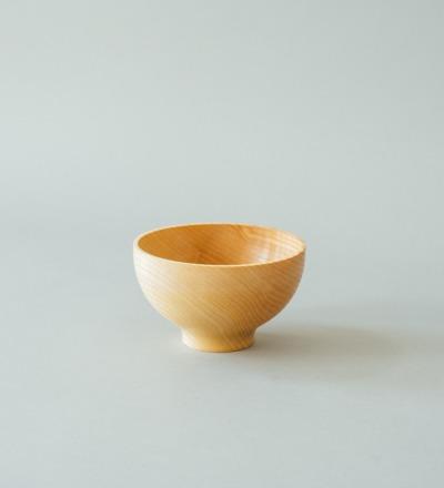 eshly Del Deep Small - Bowl made from massive ash wood