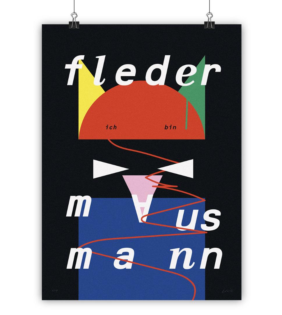 FLEDERMAUS MANN