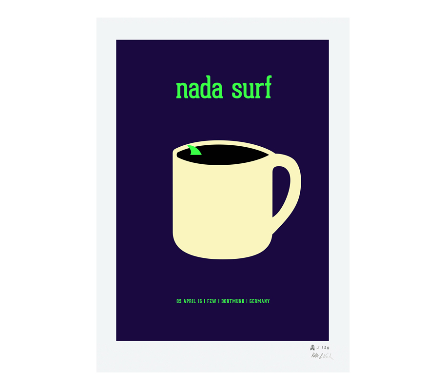 Nada Surf GLOW IN THE DARK - 1