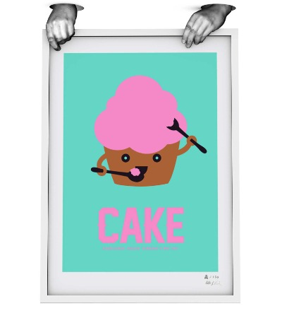 CAKE - Siebdruck