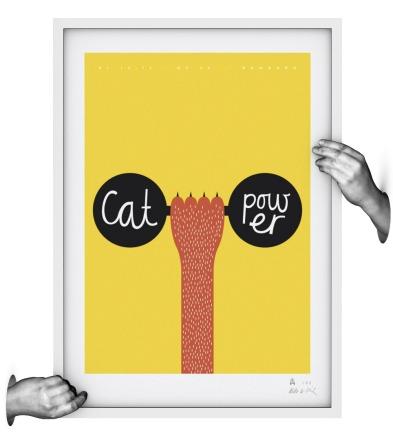 CAT POWER - Siebdruck