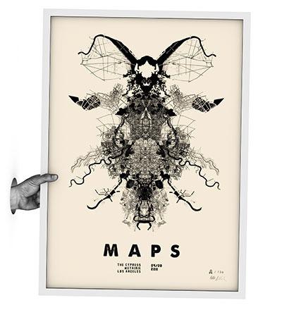 MAPS - Siebdruck