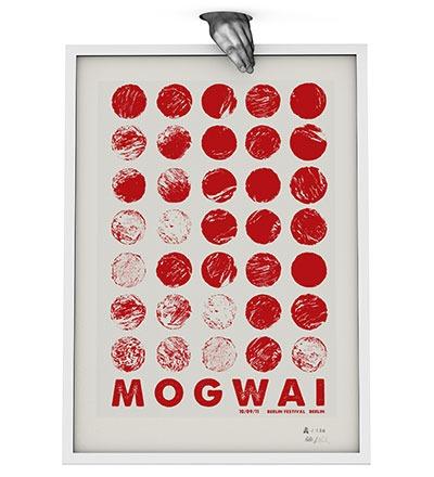 MOGWAI - Siebdruck