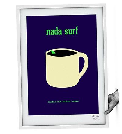 NADA SURF - Siebdruck