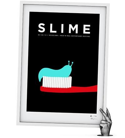 SLIME - Siebdruck