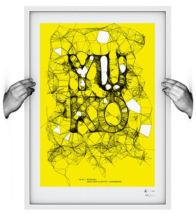 YUKO - Siebdruck