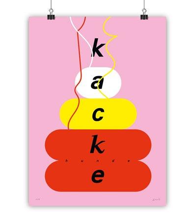KACKE - Kunstdruck