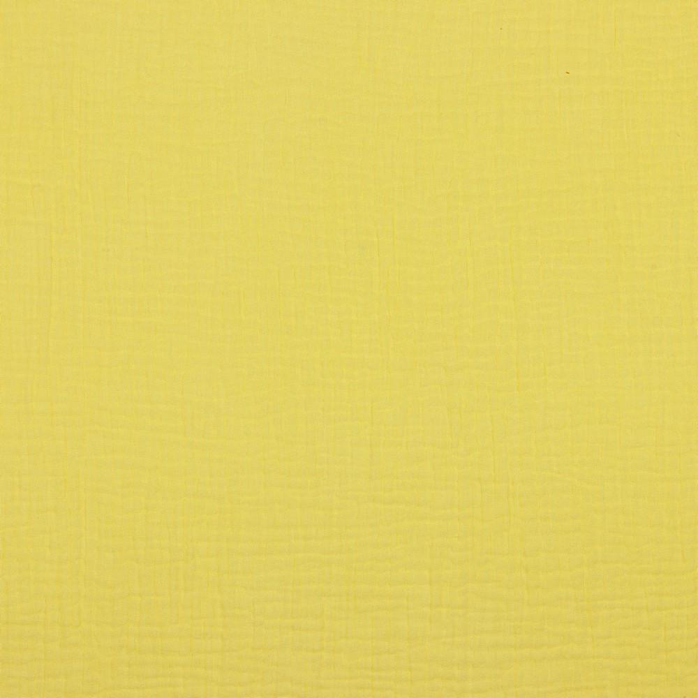 Musselin EUR/m Double Gauze Windelstoff gelb