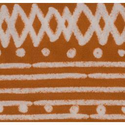 Viskosestoff Viskose terracotta weiß Message by