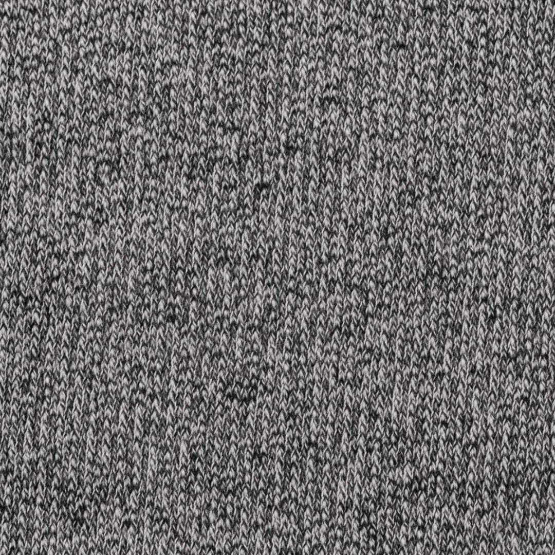 Strickstoff EUR/m Stricksweat Marvin schwarz meliert