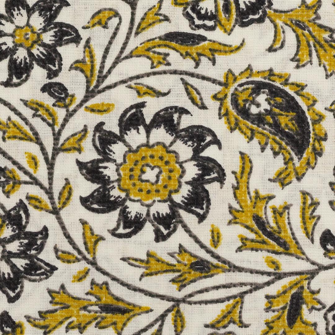 Baumwolle EUR/m Webware Baumwolle Blumenranken auf