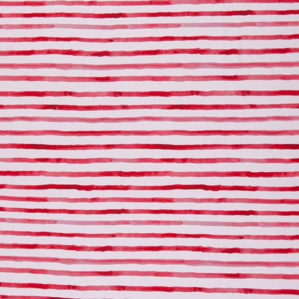 Jersey EUR/m weiß rot gestreift Serie