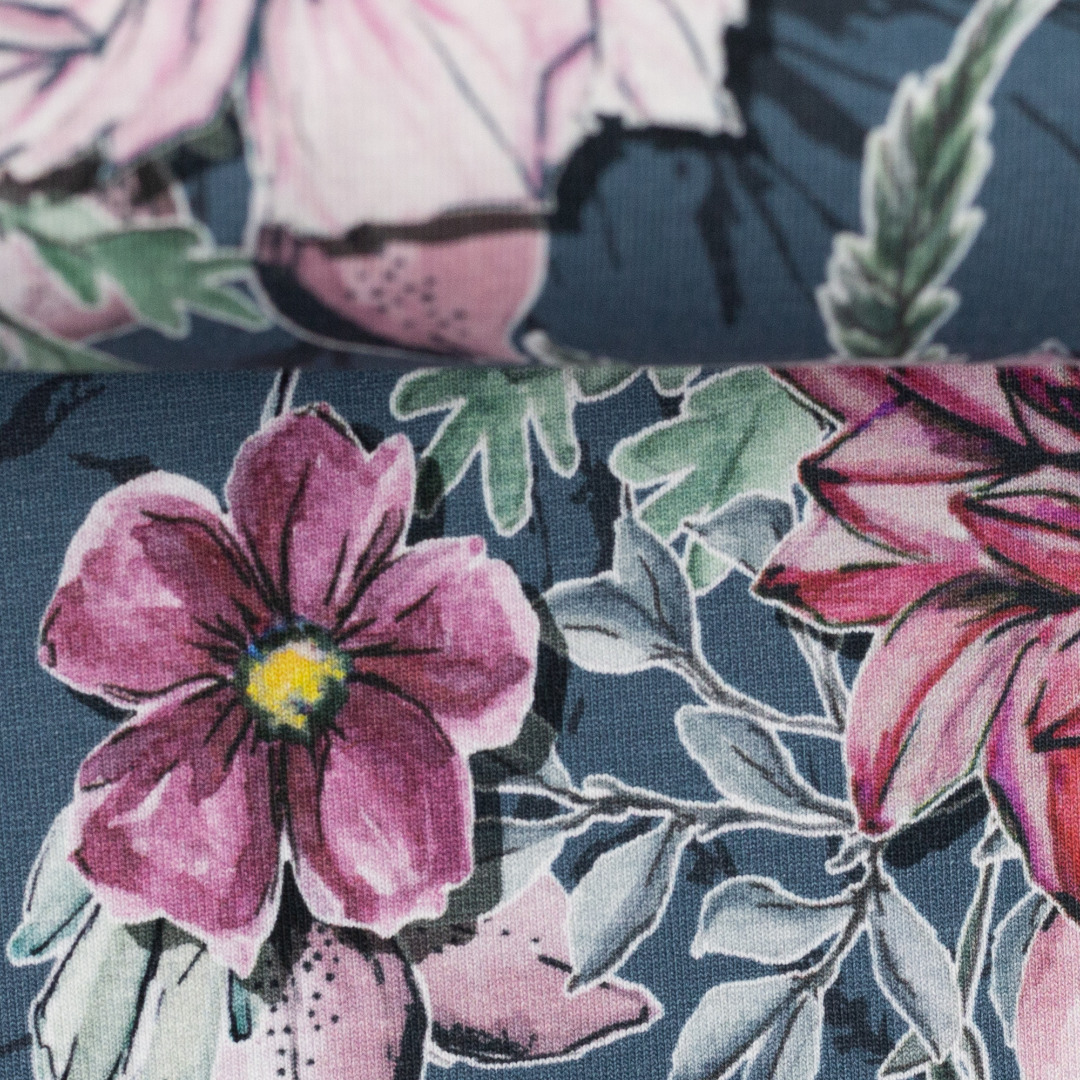 Jersey EUR/m My Watercolor Garden by