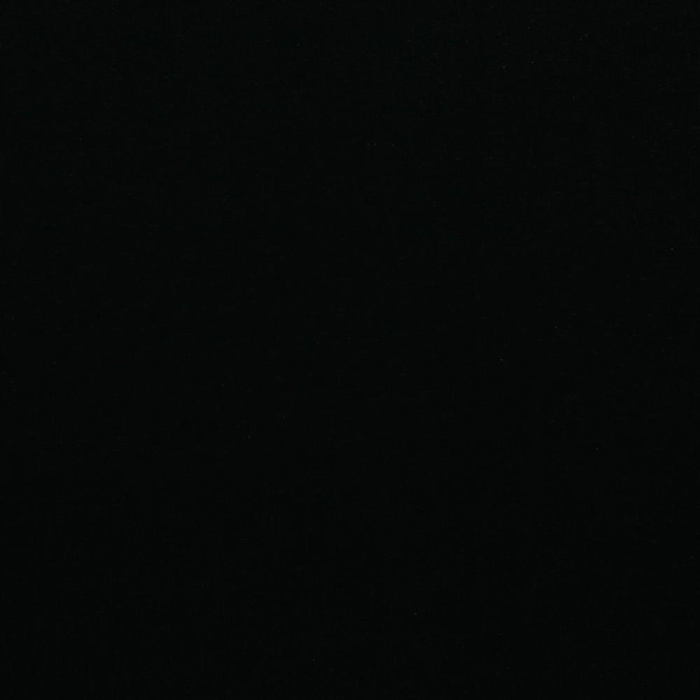Leinenjersey Euro/m Baumwolle Leinen Jersey schwarz