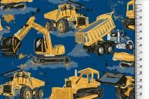 Jersey EUR/m Baufahrzeuge Jersey für Jungen - 1