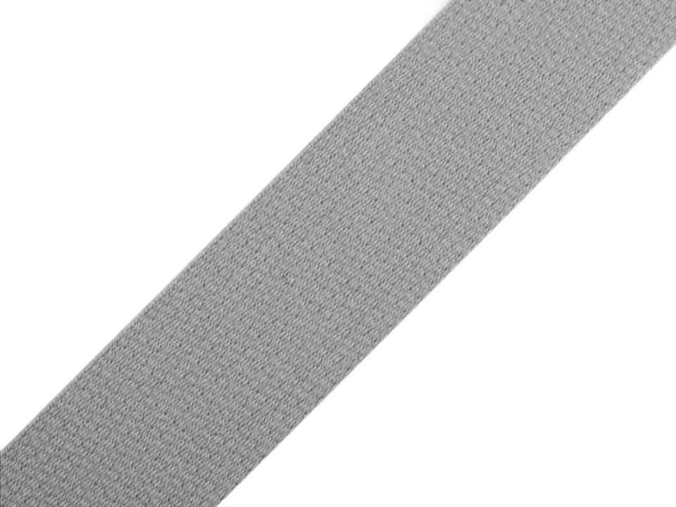 Gurtband EUR/m grau Baumwolle mm Meterware