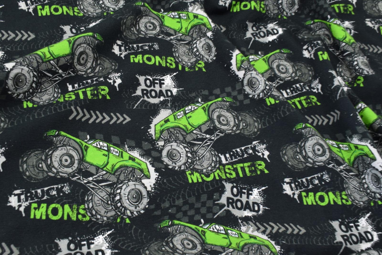 Jersey EUR/m Monstertrucks Stoffe Jungs Männer