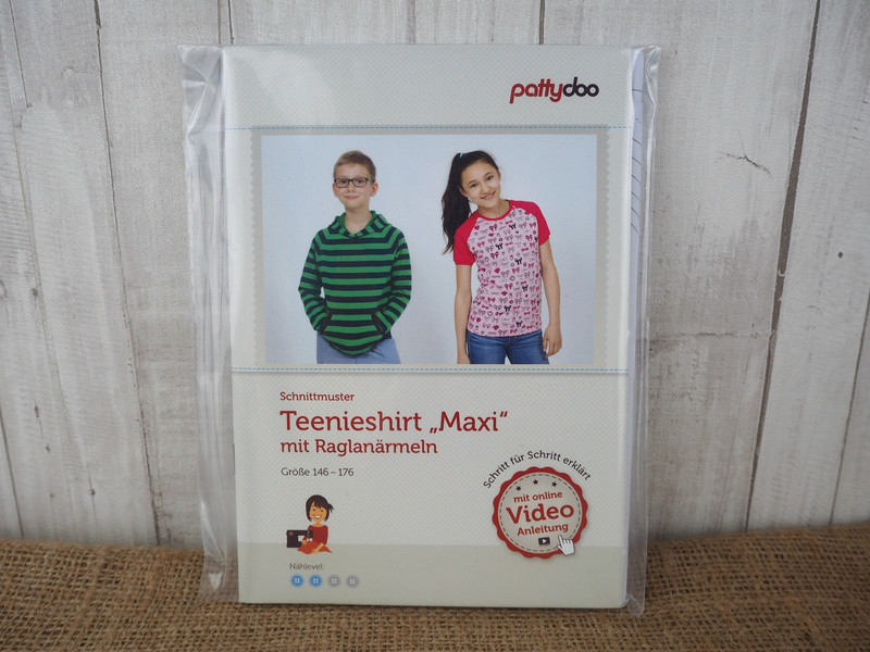 Pattydoo Schnittmuster Teenieshirt Maxi Raglan | Kekero