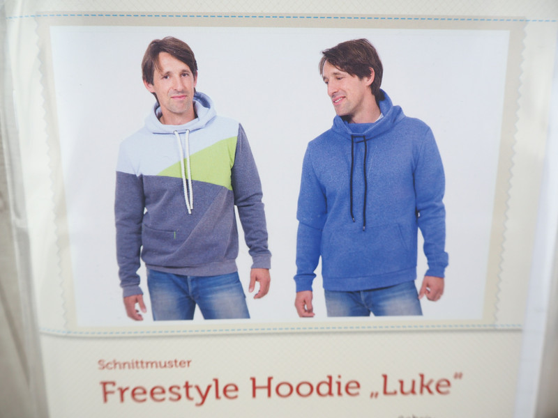 Pattydoo Schnittmuster Freestyle Hoodie Luke | Kekero