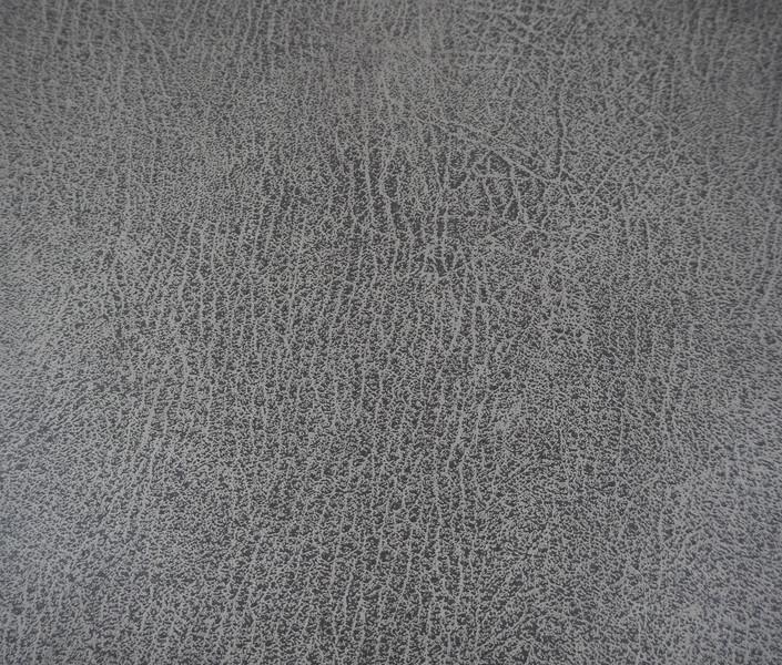 Reststück Kunstleder Maro grau dunkelgrau Antikoptik
