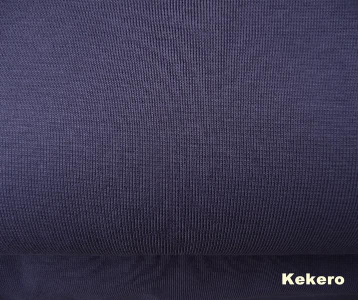 Bündchen dunkelgrau anthrazit