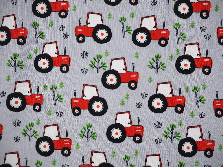 Jersey Trecker EUR/m Traktor grau Treckerjersey