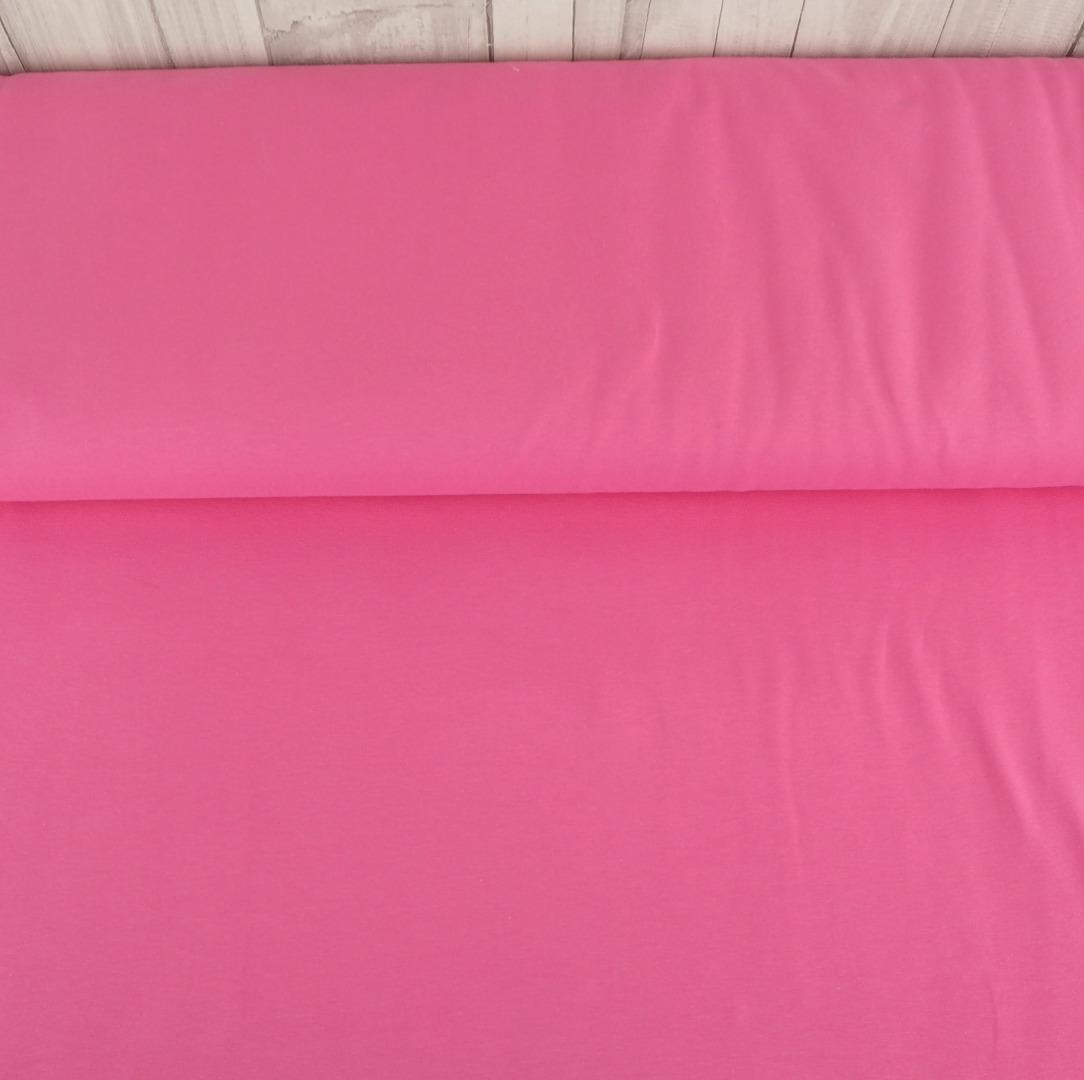 Jersey EUR/m kräftiges rosa Baumwolljersey Stoff