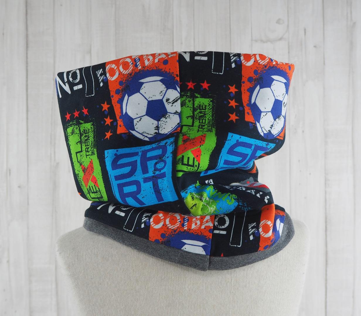 Schlupfschal für Kinder - Ballsport 2