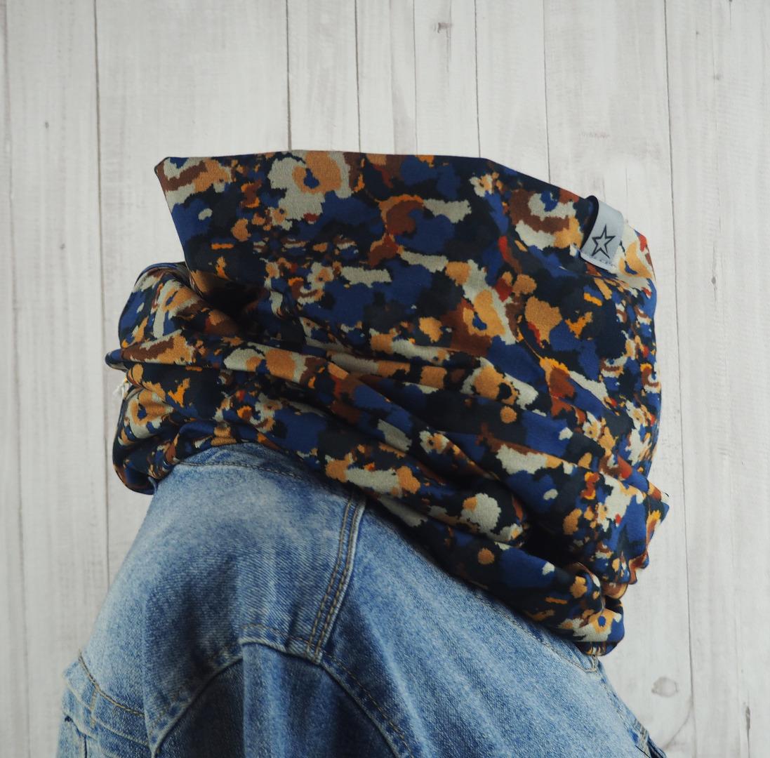 Loop Schlauschal Camouflage Erdtöne Schal für