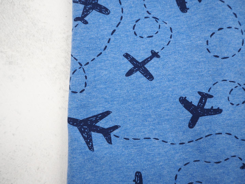 Schlupfschal Kinder Flugzeuge einfacher Loop aus