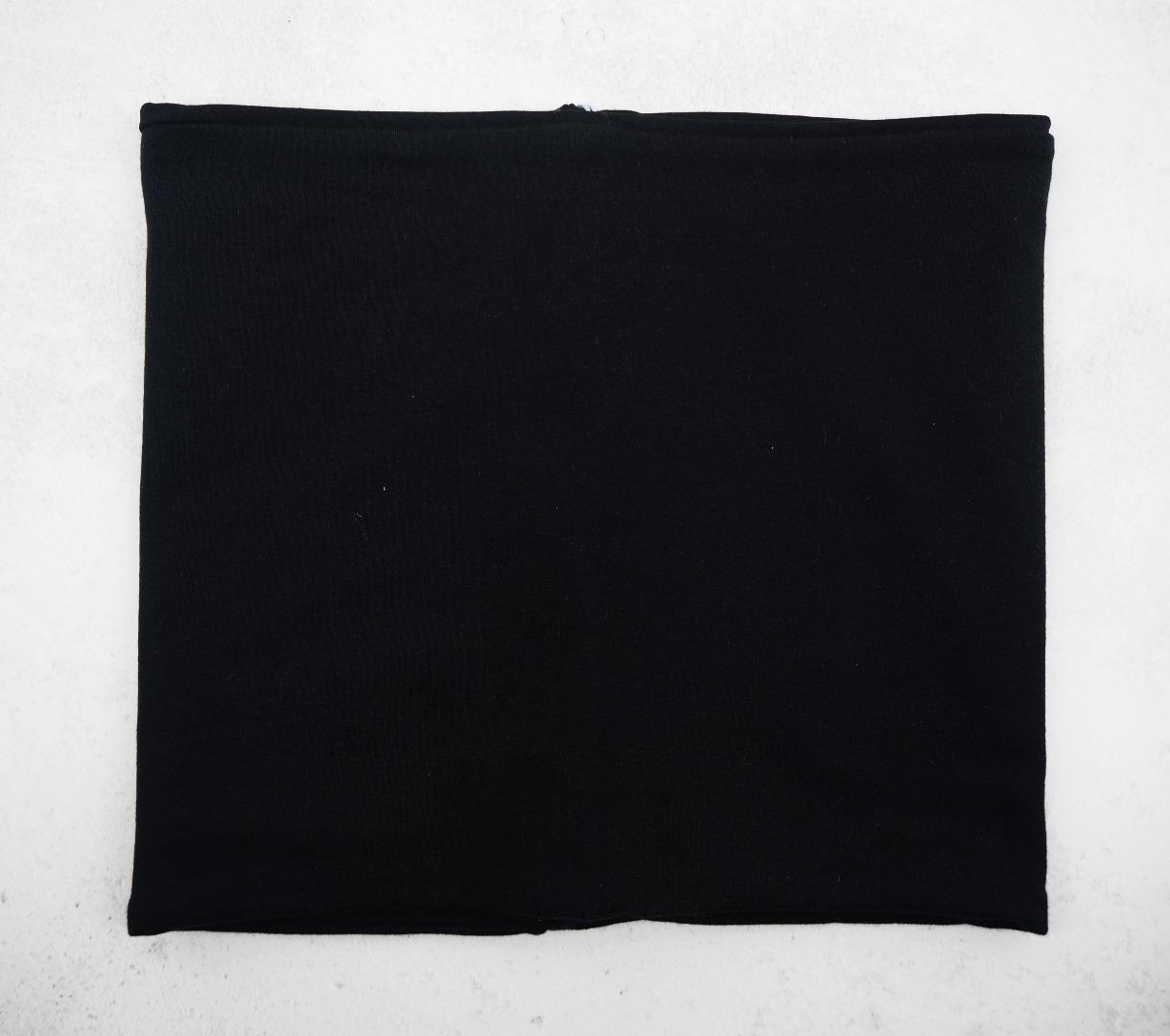 Schlupfschal Loop schwarz einfacher leichter Loop