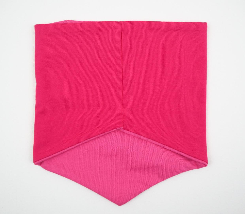 Schlupfschal Sneaker Mädchen pink und rosa