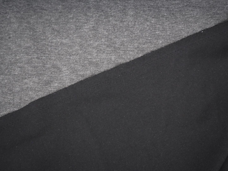 Romanitjersey dunkelgrau meliert Romanit Jersey Comfort