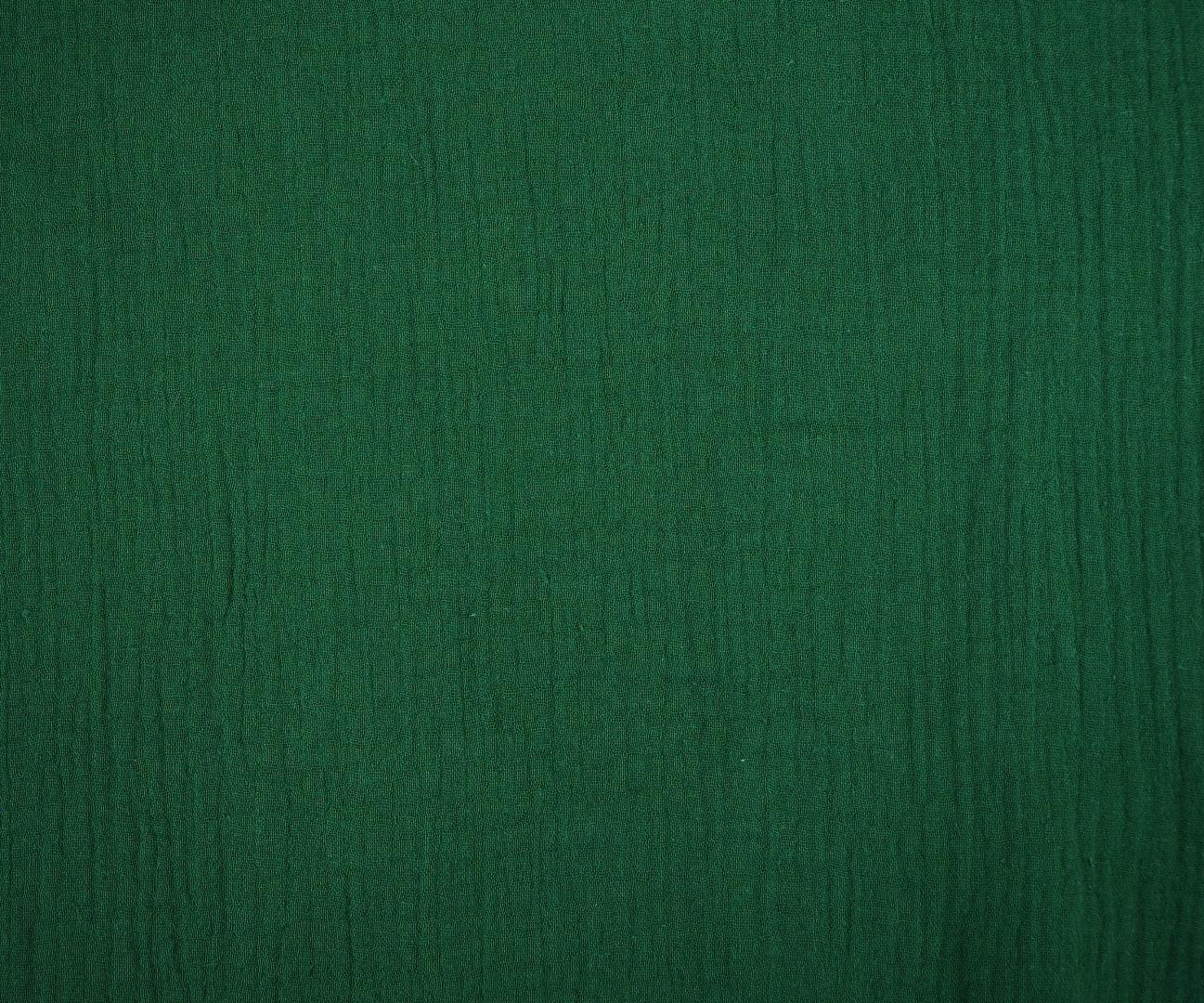Musselin Double Gauze Windelstoff grün dunkelgrün