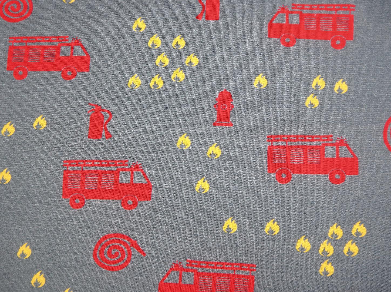 Jersey Feuerwehr grau Steinbeck Jersey für