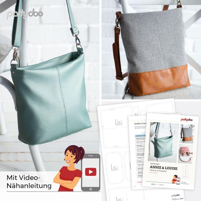 Pattydoo Schnittmuster Annie Louise Tasche und