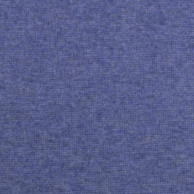 Bündchen EUR/m blau meliert melange Heike