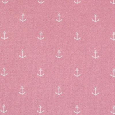 Baumwolle EUR/m Anker rosa Webware Baumwolle