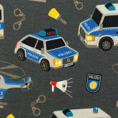 Sweat EUR/m Polizei anthrazit Gangsterjagd Sandra