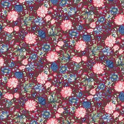 Baumwolle Blumen geblümt Popeline Baumwollpopeline Webware