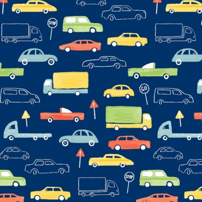 Jersey Autos EUR/m Jersey blau mit