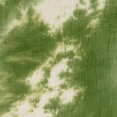 Musselin Batik Double Gauze Windelstoff khaki
