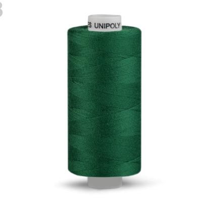 Nähgarn aus Polyester EUR/m Unipoly grün