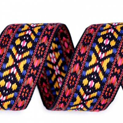Gurtband EUR/m Indianer Webband Gurtband beidseitig