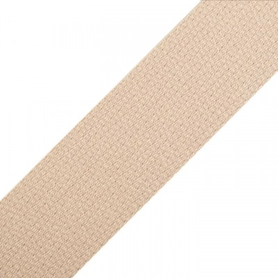 Gurtband EUR/m creme Baumwolle mm Meterware
