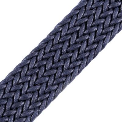 Gurtband 200 EUR/m geflochten dunkelblau 30