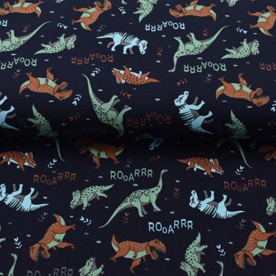 Jersey Dinosaurier Dino Jersey blau Rooarrr